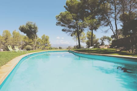 VILLA TO RELAX. NATURE AND POOL. - Ses coves