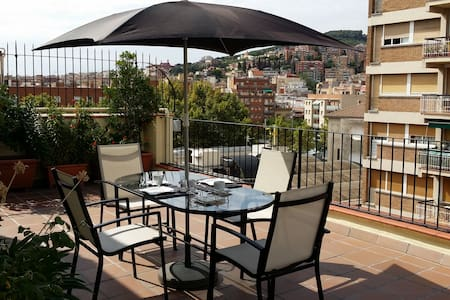 Hab/Double Room With Terrace.Atico! - Barcelona - Aamiaismajoitus