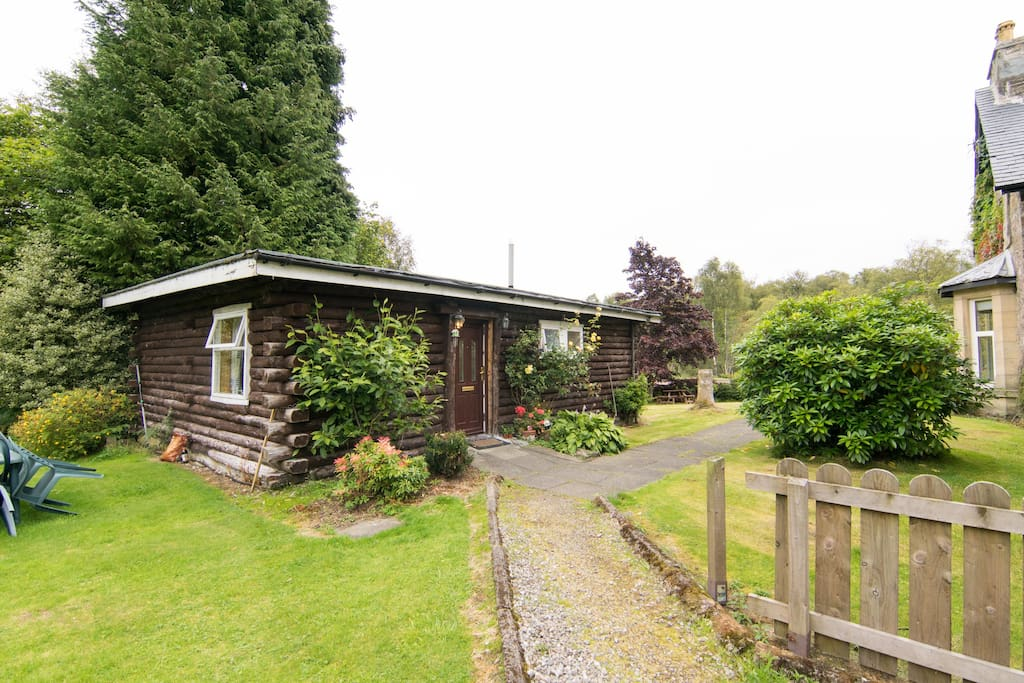 Log Cabin Located Near Loch Cottages For Rent In
