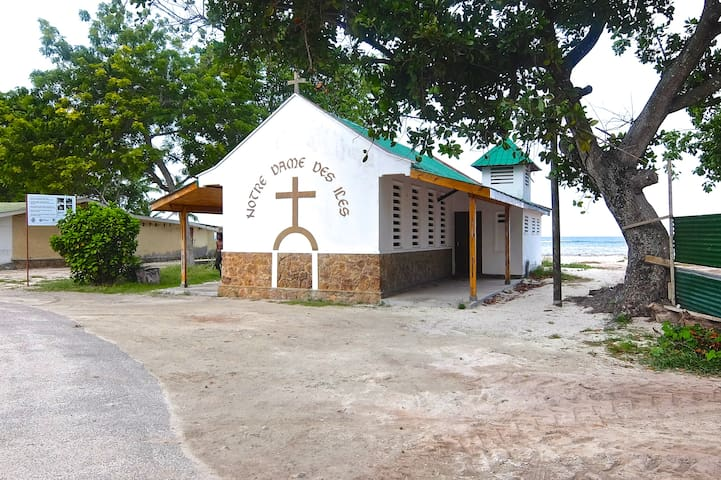 Small chapel less than 100 metres away