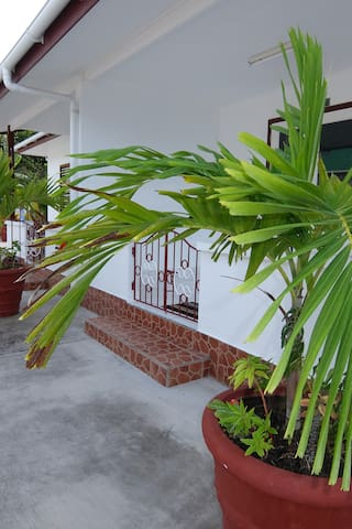 External front space of bungalow
