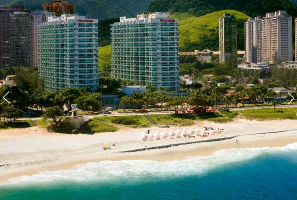 Appart h tel sheraton barra appartements avec services for Location en appart hotel