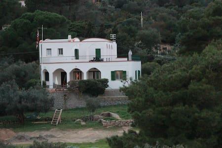 Bellissima villa in riva al mare 1°p - Isola del Giglio - วิลล่า