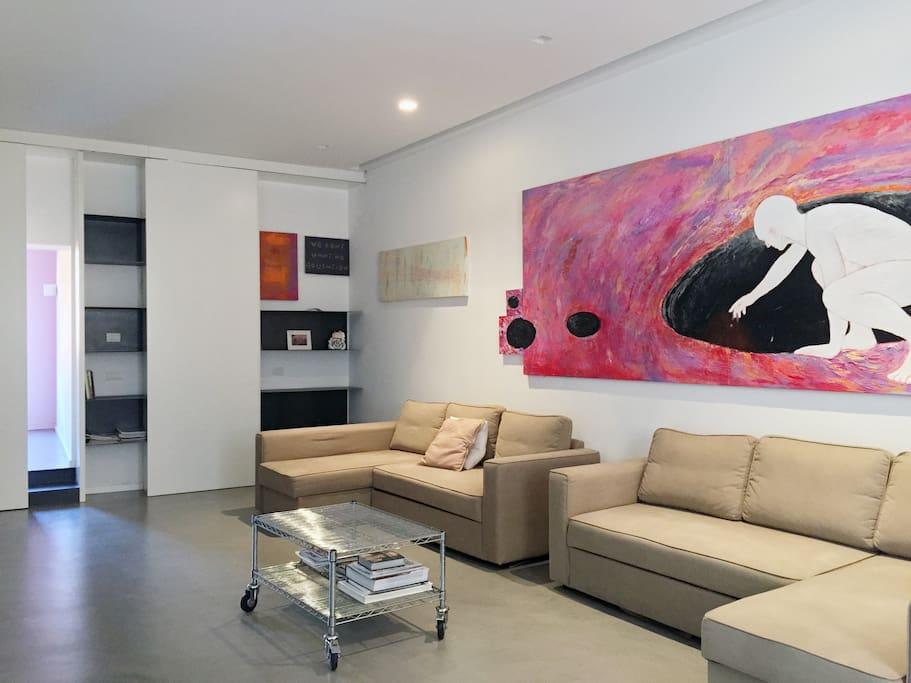 Spazioso appartamento di design al pantheon appartamenti for Appartamento design roma