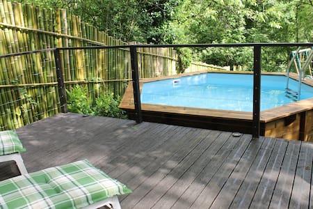 Tranquil studio overlooking river! - Saint-Antonin-Noble-Val - Byt