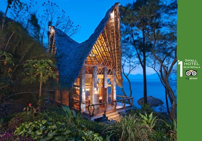 La Fortuna@Atitlan Eco Bungalow 4 - Santa Cruz la Laguna - Cabana