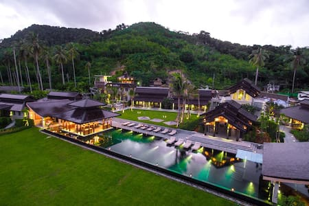 Thailand Island Beach Luxury Estate - Ko Yao Noi - 별장/타운하우스