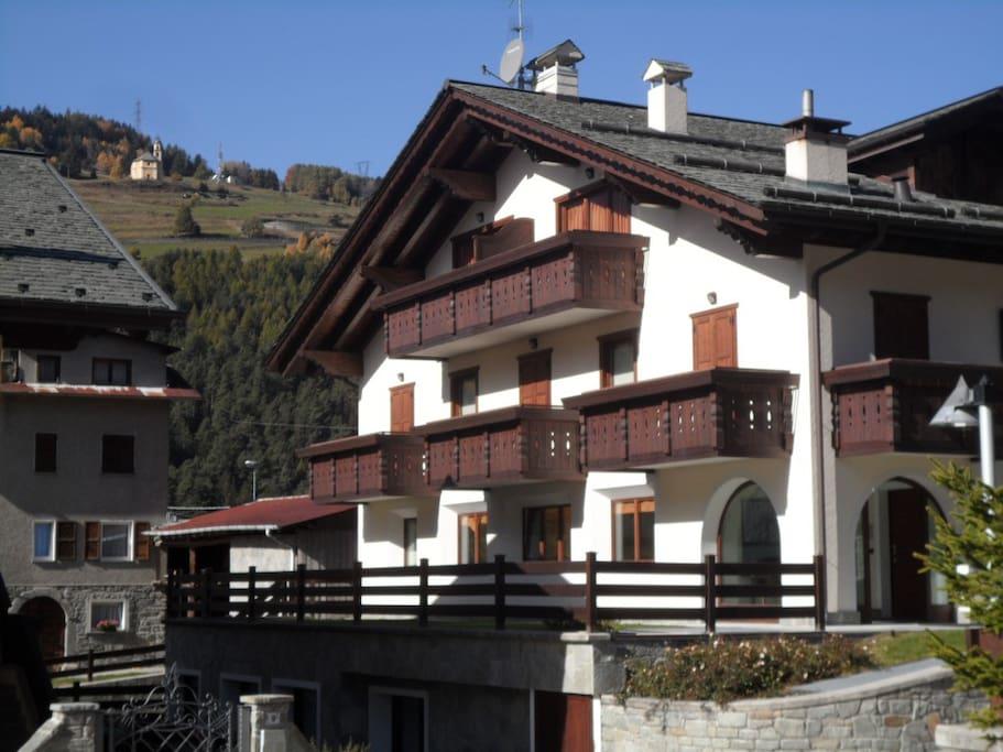 Chalet alberti affitto appartamenti appartamenti in for Appartamenti bormio