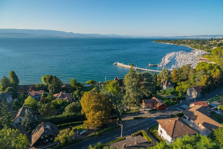 Atypical flat overlooking the Lake - Thonon-les-Bains - Leilighet