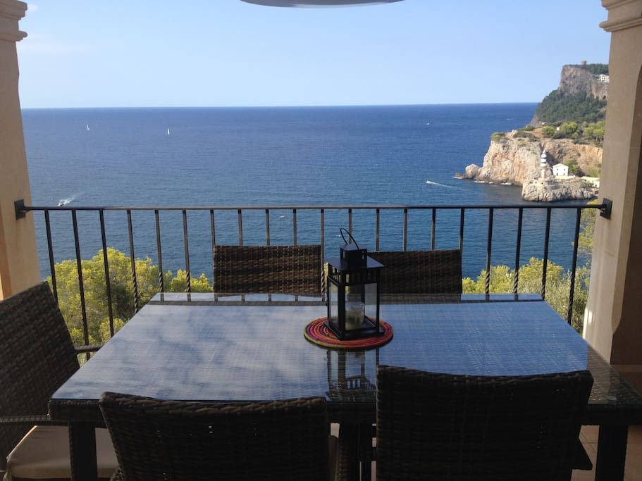 View from the dinning room terrace