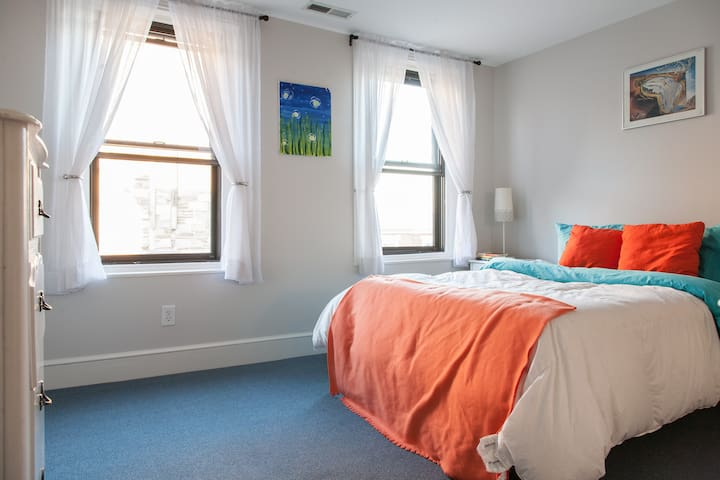Historic Fishtown B&B with cozy bed