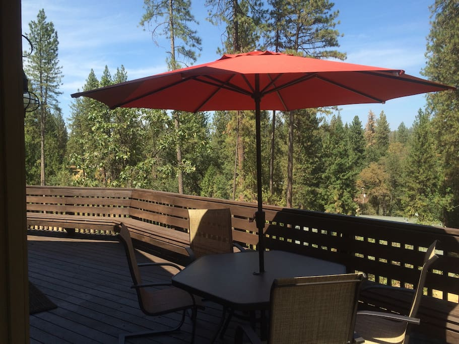 Above the pines at pine mountain lake cabins for rent in for Groveland ca cabin rentals