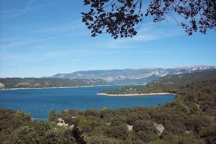 Provencal villa near Lac de Sainte-Croix and Gorge - Bauduen - House