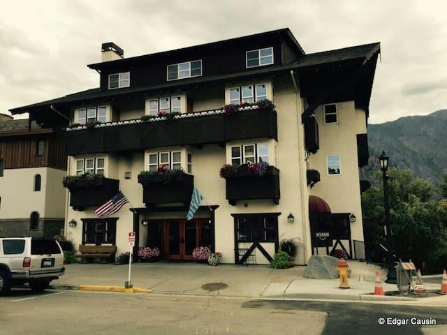 Leavenworth Blackbird Lodge -Studio - ลีเวนเวิร์ธ - อพาร์ทเมนท์