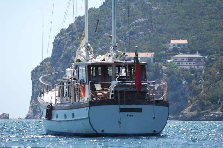 3 days on classic yacht Halcyon I