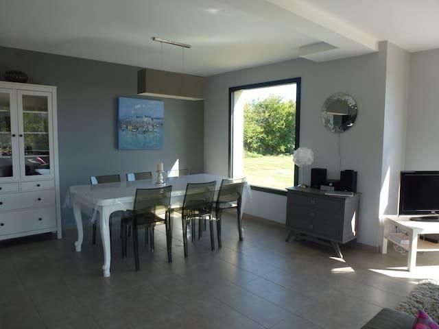 petite villa vue sur mer - Gouberville - Dom