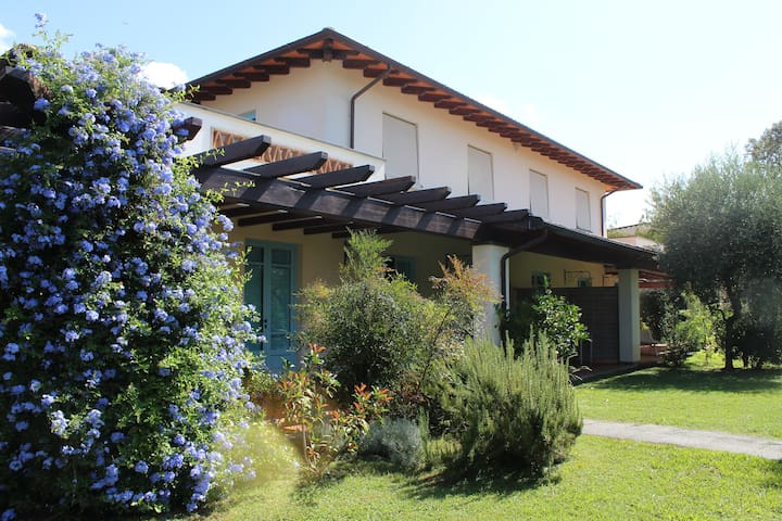 Villa with garden 3km from the sea - Querceta - House