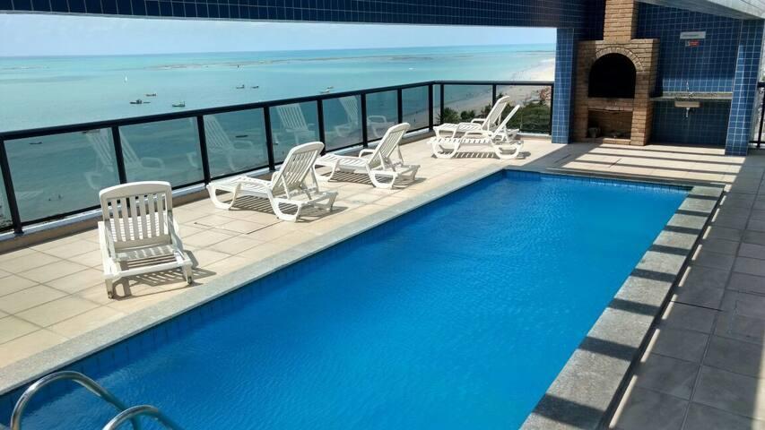 Apartamento Luxo 2/4 Beira-Mar Pajuçara Maceió