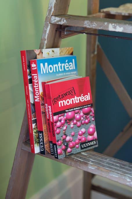 Quelques guides de voyages pour vous aider à vous y retrouver parmi toutes les richesses de Montréal.