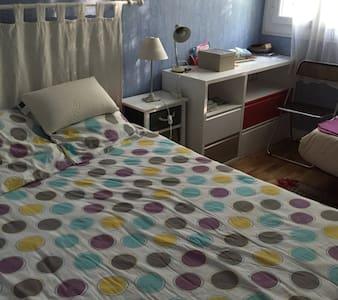 Chambre  appartement villejean - Rennes