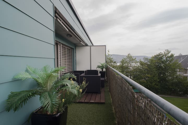 Stunning Lake View, Bright&Airy Apt - Horgen - Flat
