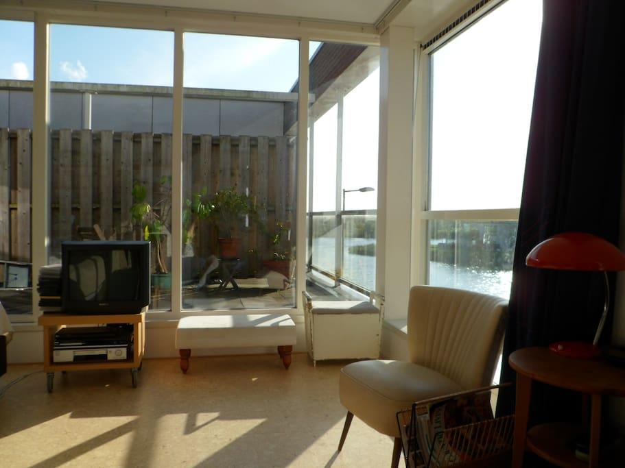 Top floor living area