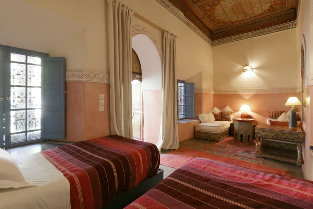 Riad Maizie Pink Room and Verandah