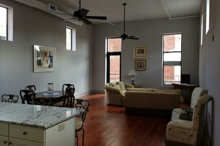 Downtown Loft With Rooftop Patio - Macon