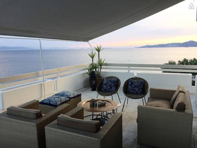 Amazing Seaside Penthouse - Athens - Pireas - Apartamento