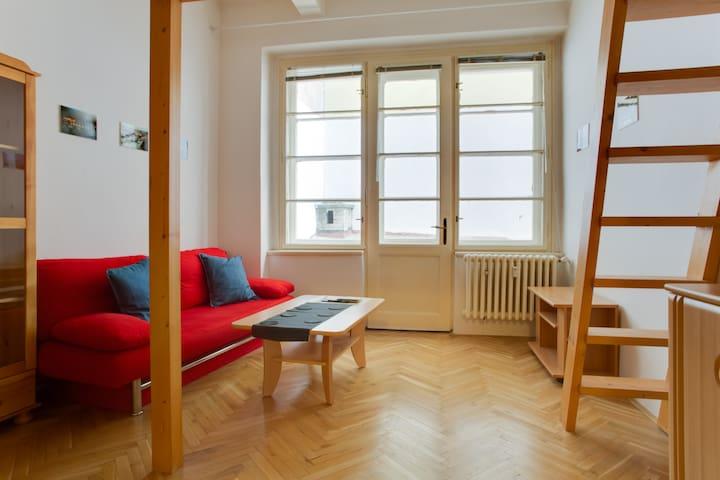 Cool apartment in New town centre - Praha - Apartemen