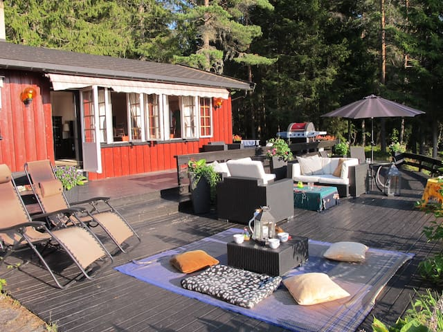 Relax with outdoor elegance - Lillestrøm - Cabaña