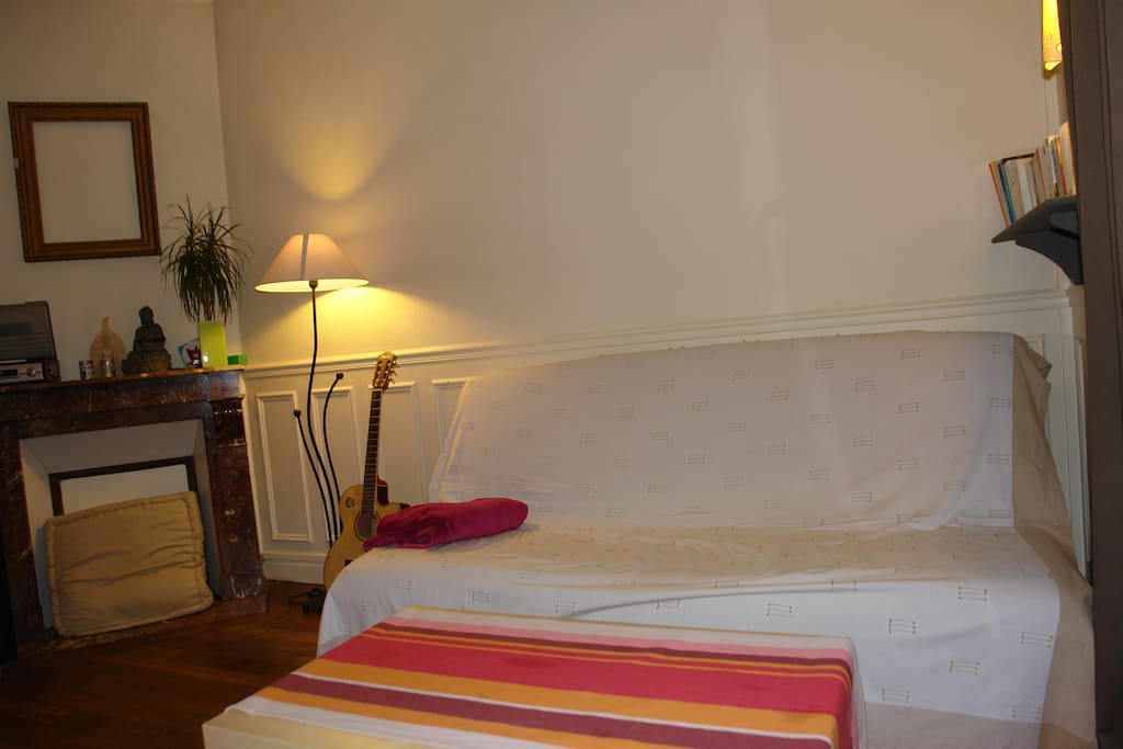 Nice flat porte de la villette flats for rent in for Salon yoga porte de la villette