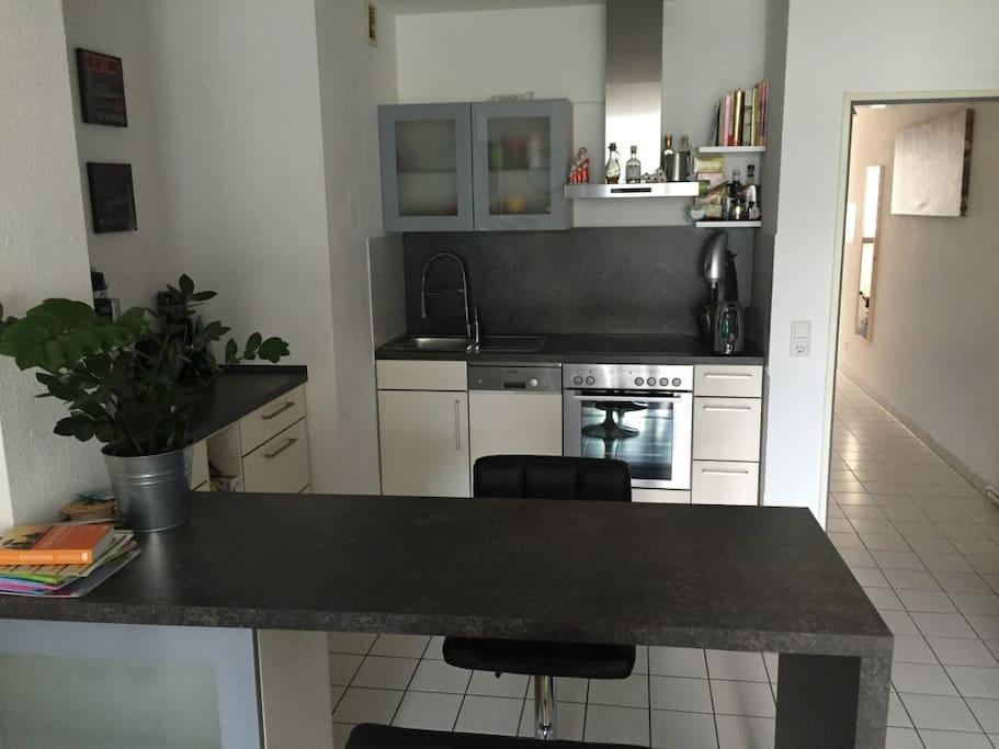 gem tliche wohnung im medienhafen blockh tten zur miete in d sseldorf nordrhein westfalen. Black Bedroom Furniture Sets. Home Design Ideas