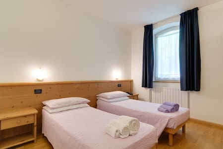 standard double room la Ferrata - Cadino - Bed & Breakfast