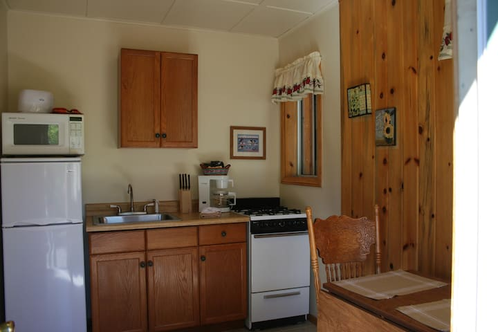 Cabin #2 - Studio for 2 - Lakeview - Fawnskin