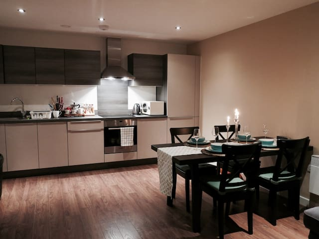 Homely double near Spinningfields - Salford - Byt
