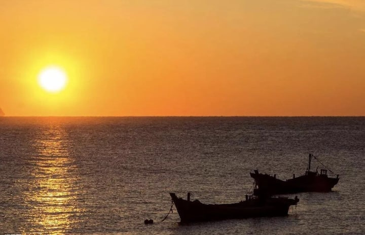 在海南最东边文昌月亮湾见证海南第一缕阳光的海边度假房
