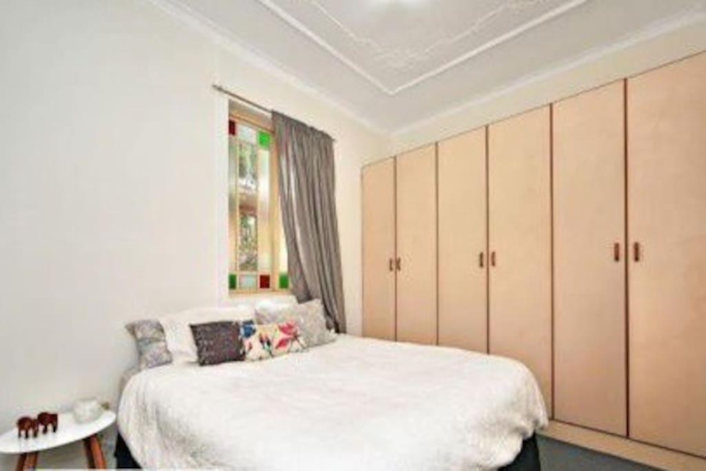 High ceilings in bedrooms