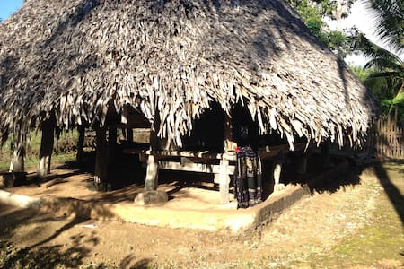 Tradition Sabu Long House - Dai Eko, Sabu Island.