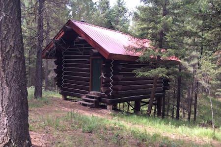 The log cabin at the bear 10 ranch - 尤里卡(Eureka)