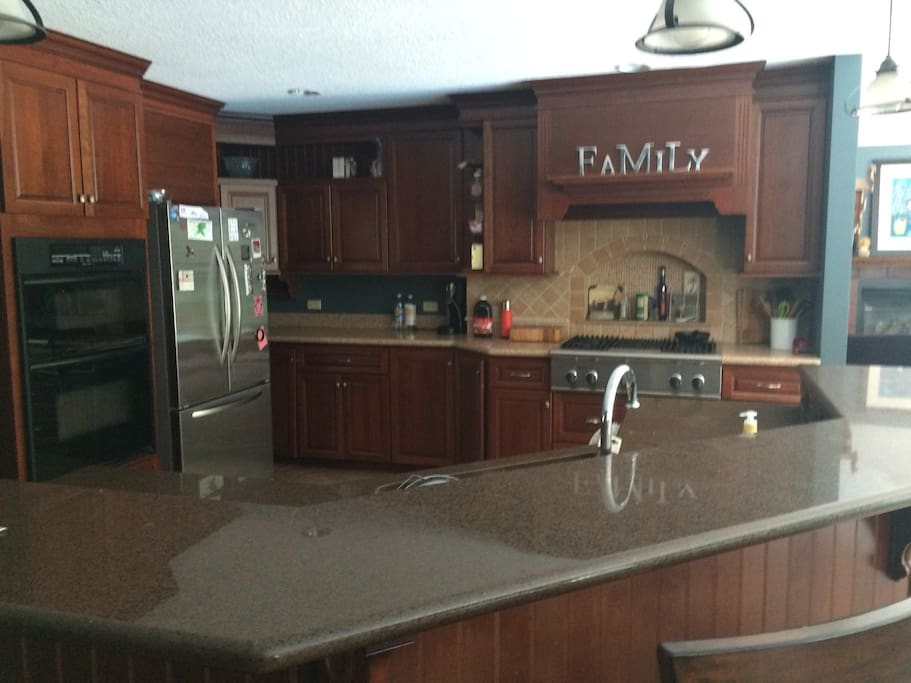 Kitchen - accessible to guests on main level