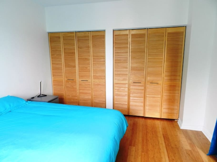 ..and king size closets