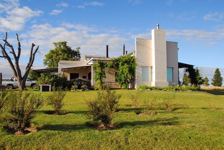 Hilltop Beautiful House in Uruguay