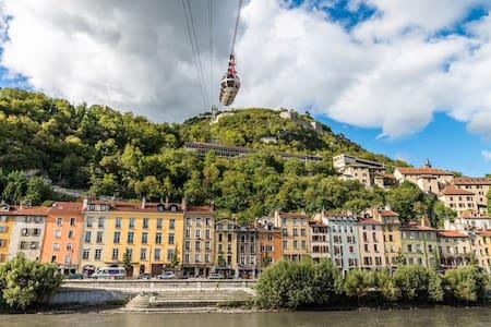 Superbe Loft Proche Gare et Centre Grenoble - Grenoble