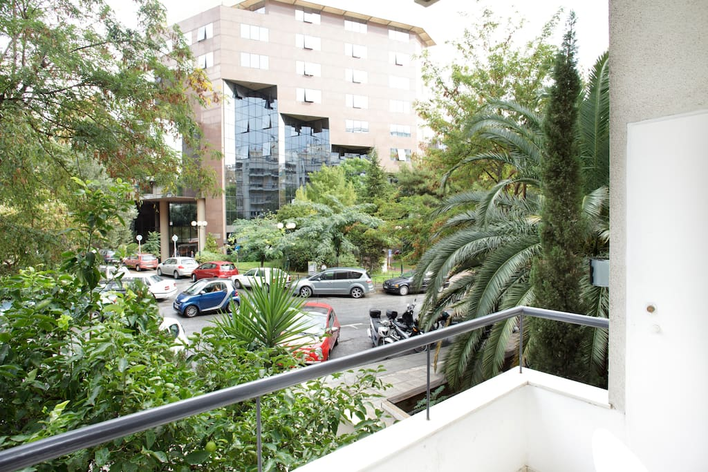 Athens studio flat Hilton area