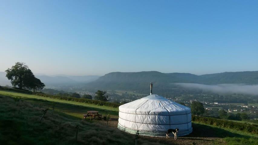 Yurt Rhiannon, North Wales