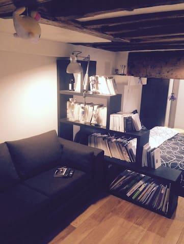 Studio shared à montorgueil - Paryż - Apartament