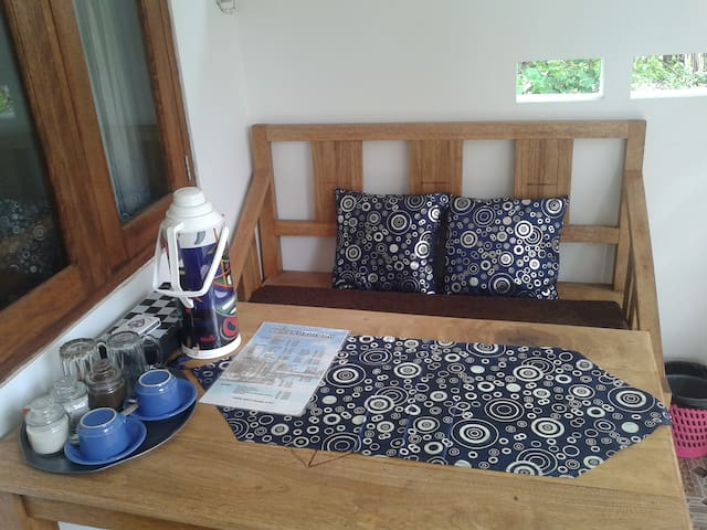 Deluxe double room with Air Conditioning and Fan