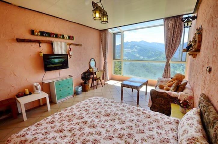 villarelax歐式鄉村雙人房1 - Ren'ai Township - Bed & Breakfast