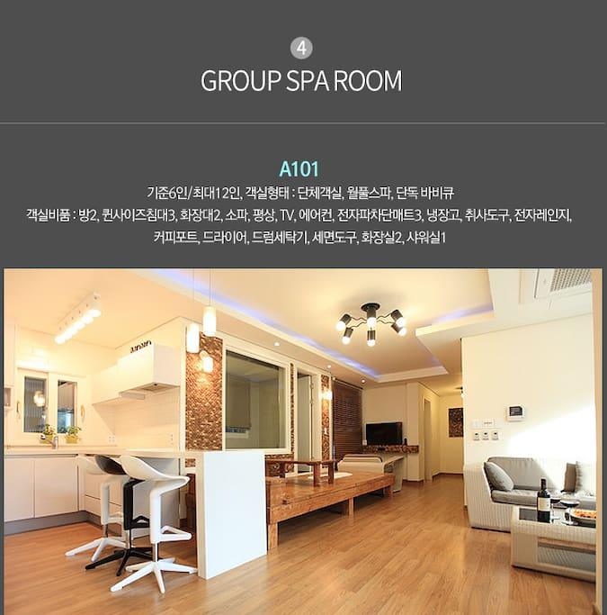 monopension a101 spa room